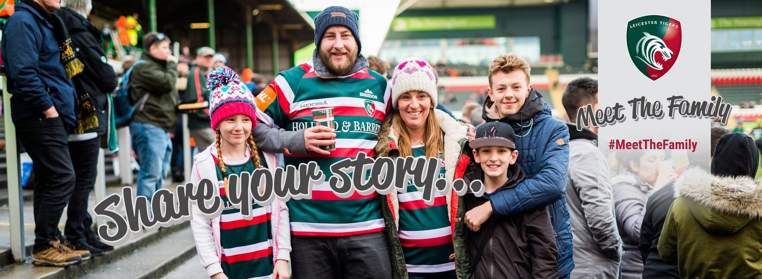 Leicester Tigers Meet The Family